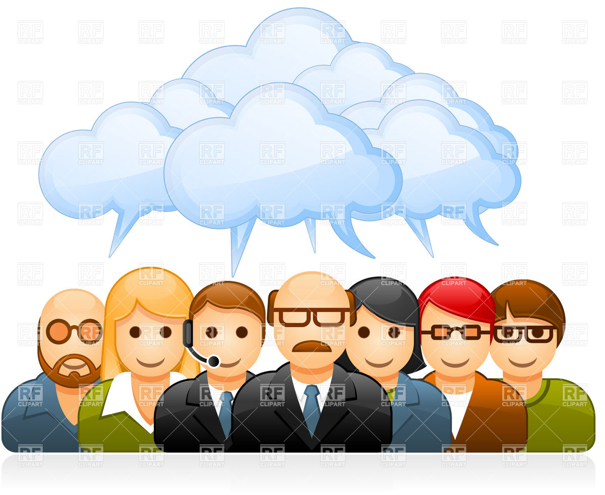 1200x982 Brainstorming Group Of Business People Vector Image Vector