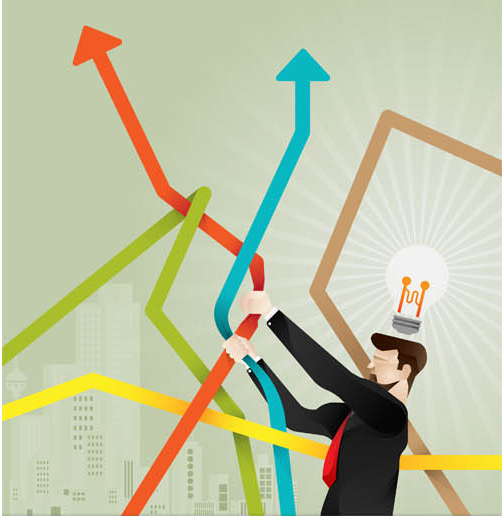502x516 Growth Business Concepts Vector Ai Format Free Vector Download