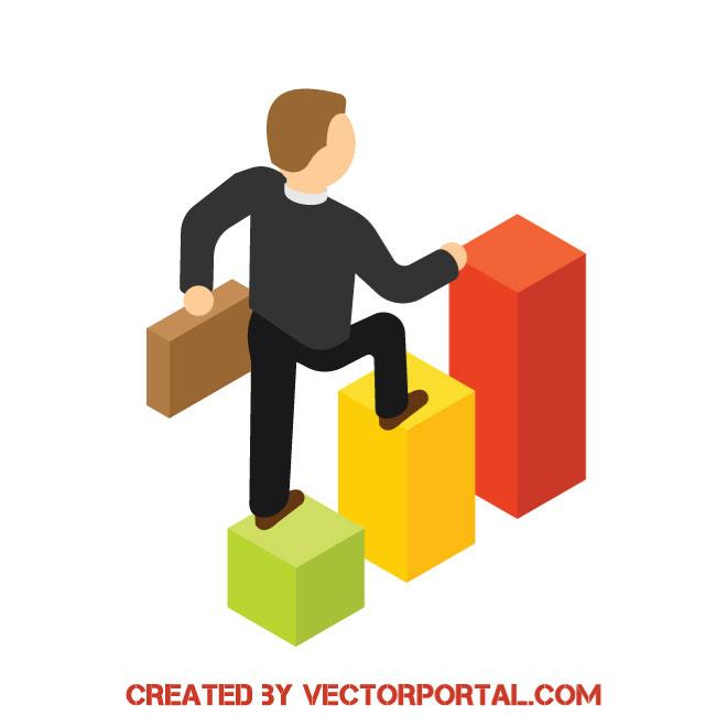 660x660 Business Growth Vector Concept