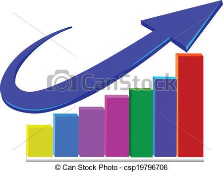 450x347 Business Statistics Arrow Logo. Business Statistics Growth Sales