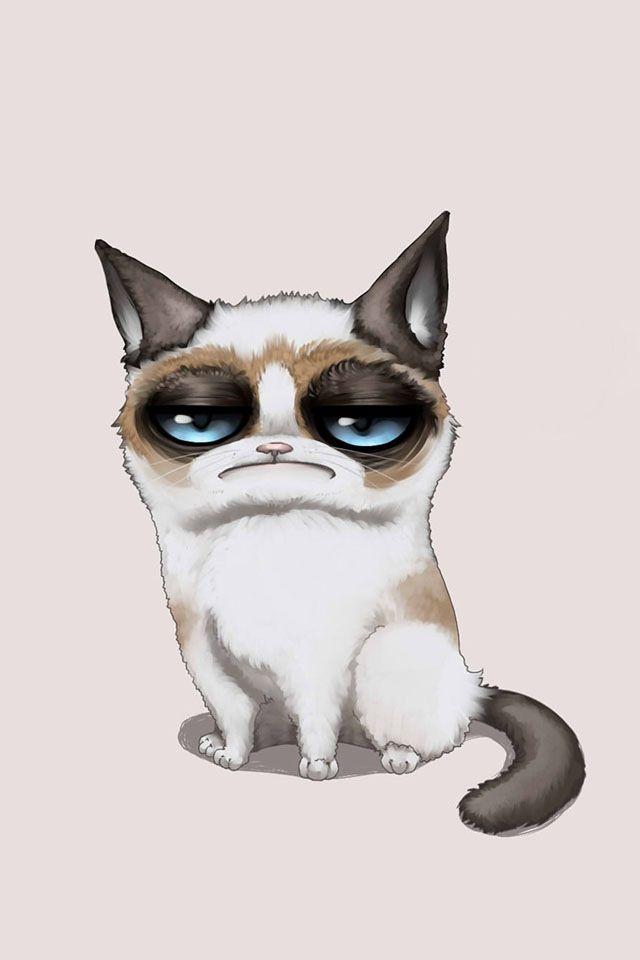 Grumpy Cat Vector At Getdrawings Com Free For Personal Use Grumpy