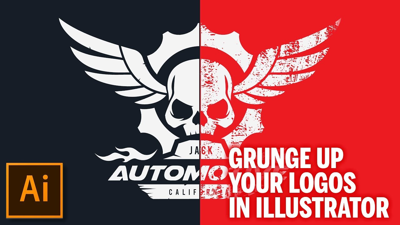 1280x720 How To Create A Grunge Effect In Adobe Illustrator Cc