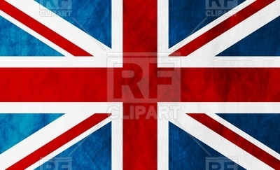 400x243 United Kingdom Of Great Britain Grunge Flag Vector Image Vector