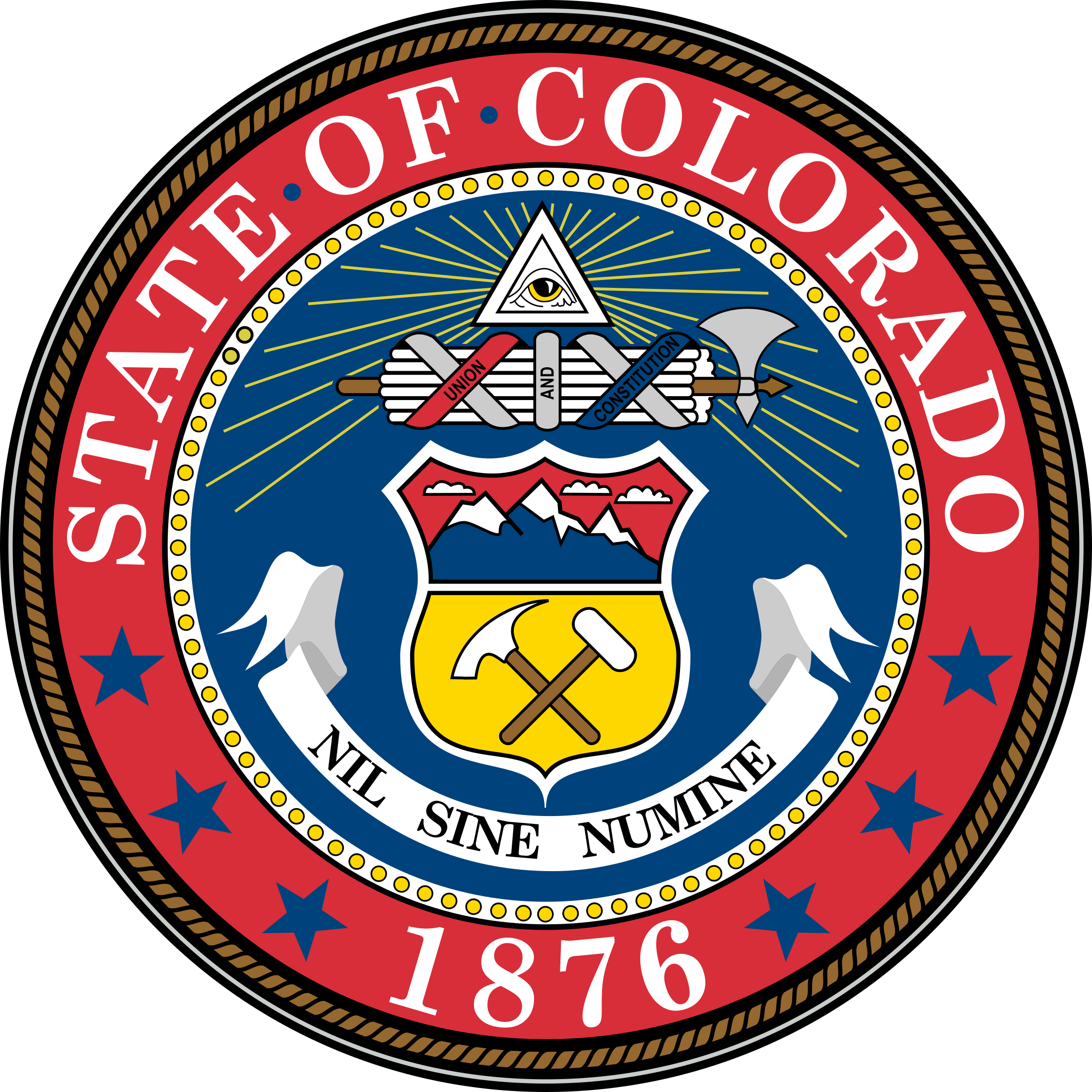 2200x2200 Colorado State Seal Png Amp Svg Vector