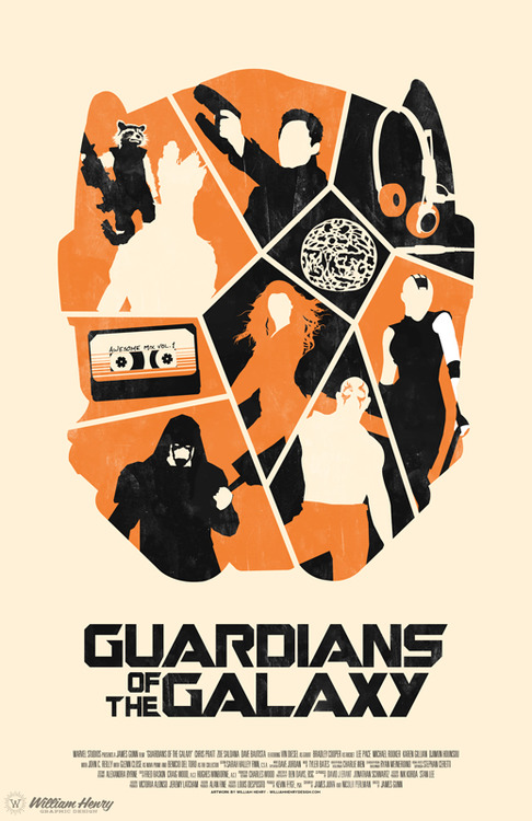 486x750 Guardians Of The Galaxy Poster By Billpyle