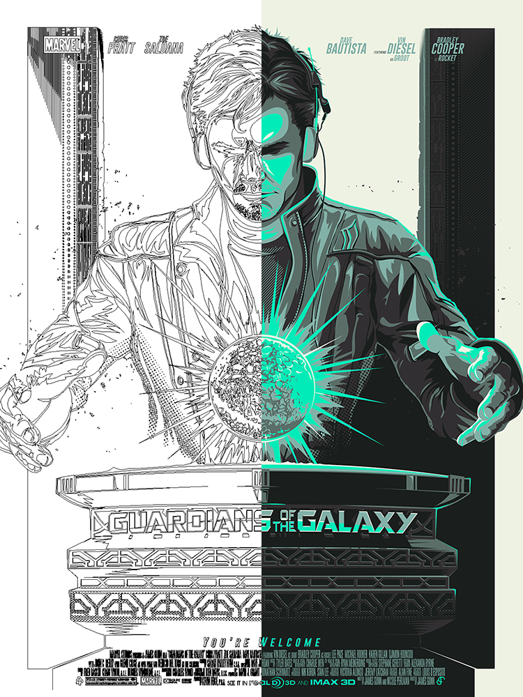 750x1000 Guardians Of The Galaxy Poster Posse