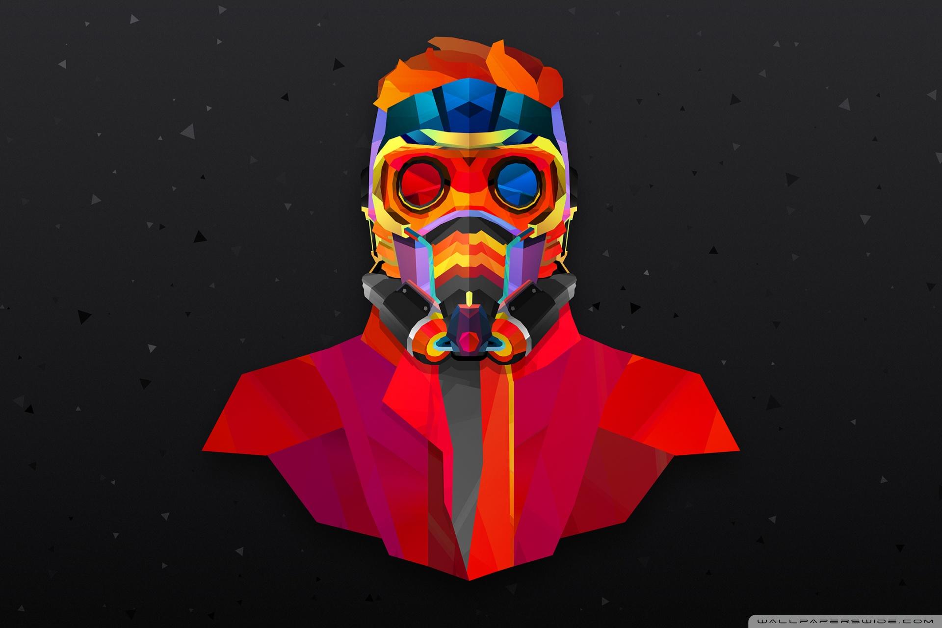 1920x1280 Guardians Of The Galaxy Star Lord Abstract Art 4k Hd Desktop