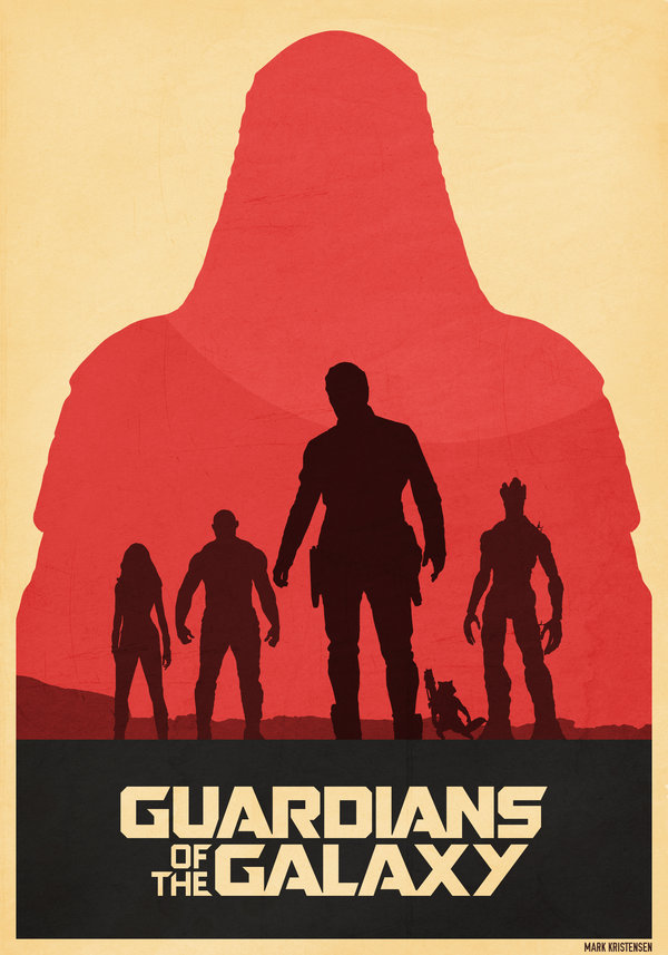 600x857 Guardians Of The Galaxy Poster By Deluxepepsi