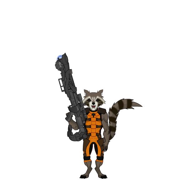 600x600 Rocket Raccoon