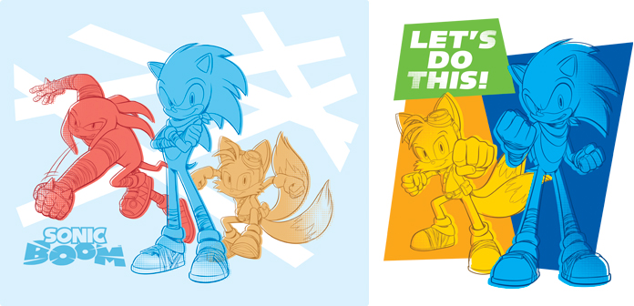 696x336 Sonic Boom! Vector Style Guide