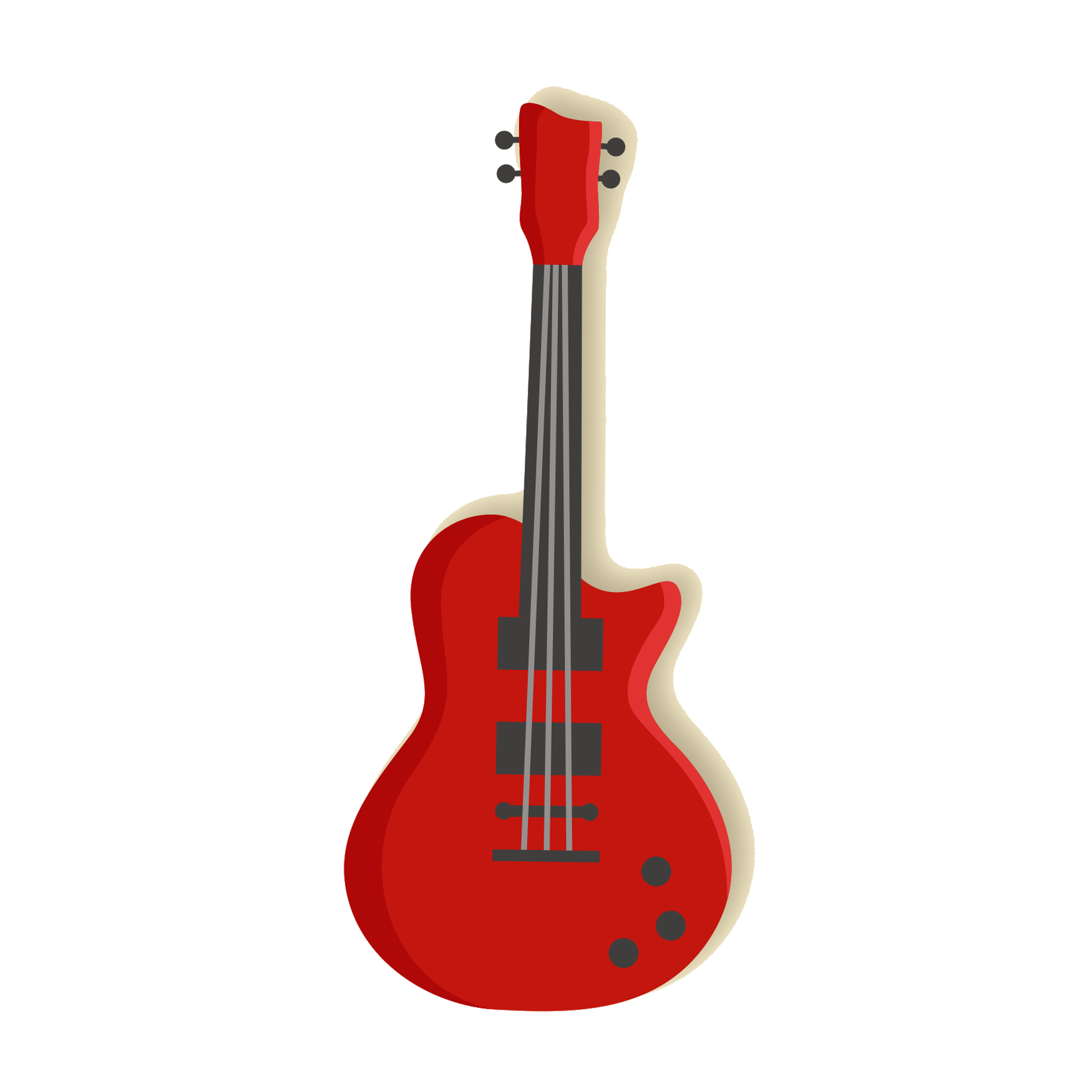 Guitar Neck Vector