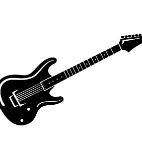 282x282 Guitar Vector Free Vector Download 208747 Cannypic