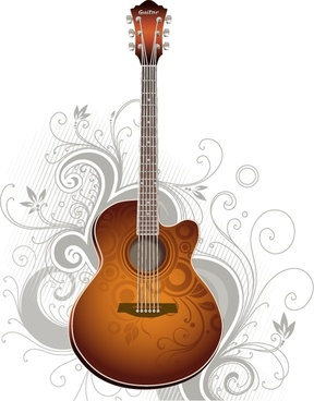 288x368 Guitar Free Vector Download (400 Free Vector) For Commercial Use