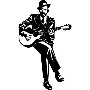 300x300 Guitarist Vector Free Vectors Ui Download