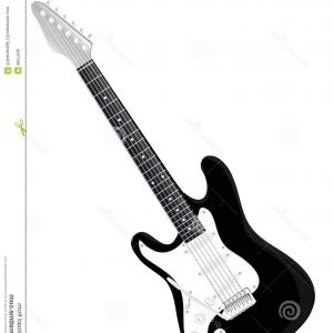 300x300 Royalty Free Stock Photo Electrical Guitar Vector Image Sohadacouri