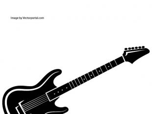 310x233 Guitar Vector Artwork Free Vectors Ui Download