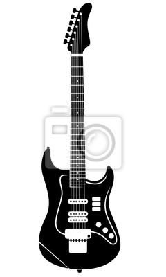 240x400 Electro Vector Guitarra Vinilos Para Vinilos Para La