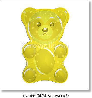 Gummy Bear Vector