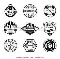 236x234 50 Best Images In 2018 Gym, Logos And Gym Logo