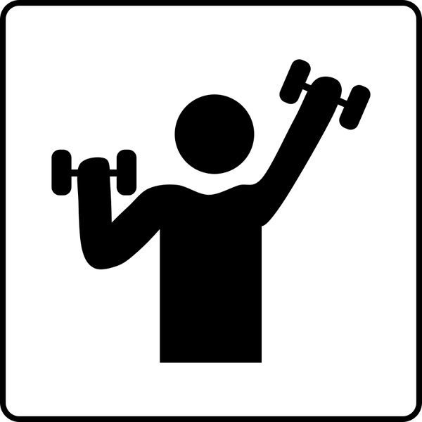 600x600 Hotel Icon Has Gym Free Vector In Open Office Drawing Svg ( .svg
