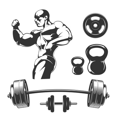 400x400 Page 1 Gym On Curated Vector Illustrations, Stock Royalty Free