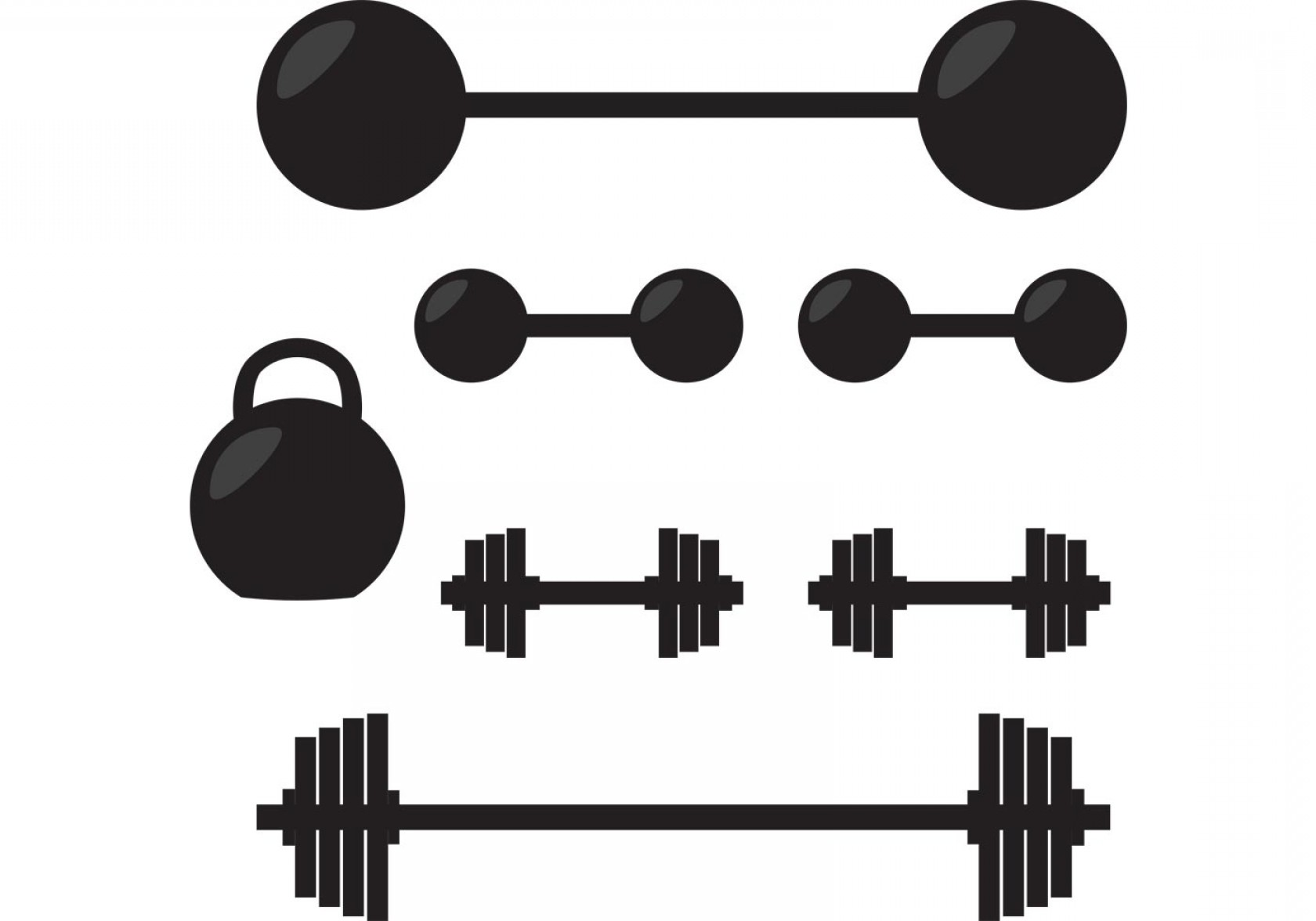 1680x1176 Silhouette Of Gym Vector Weights Arenawp