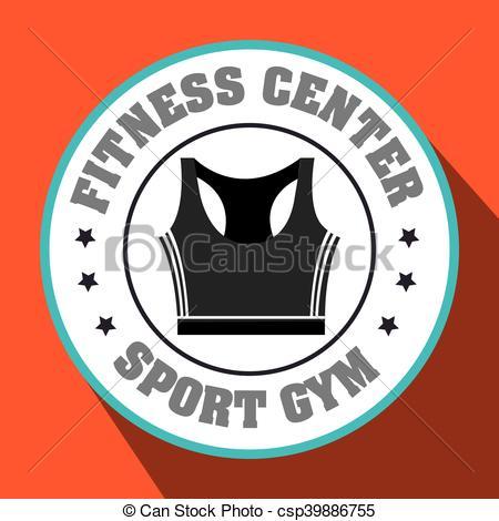 450x470 Fitness Center Sportswear Gym Vector Illustration Graphic Eps 10.