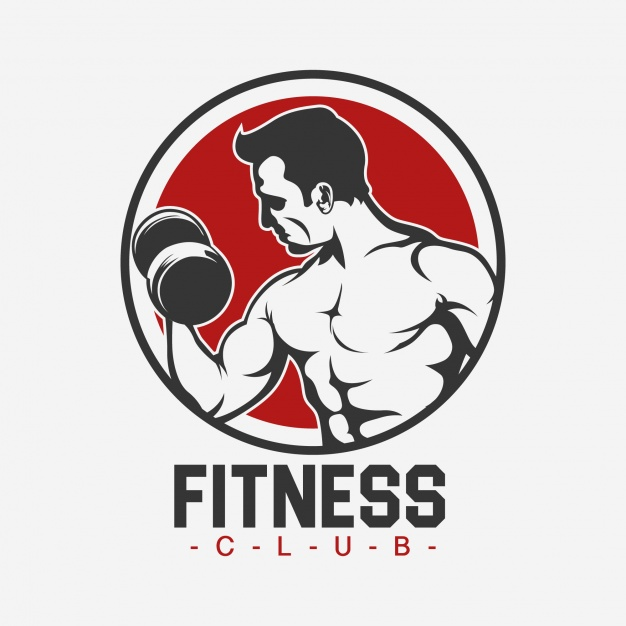 626x626 Fitness Logo Template Design Vector Free Download Comfortable