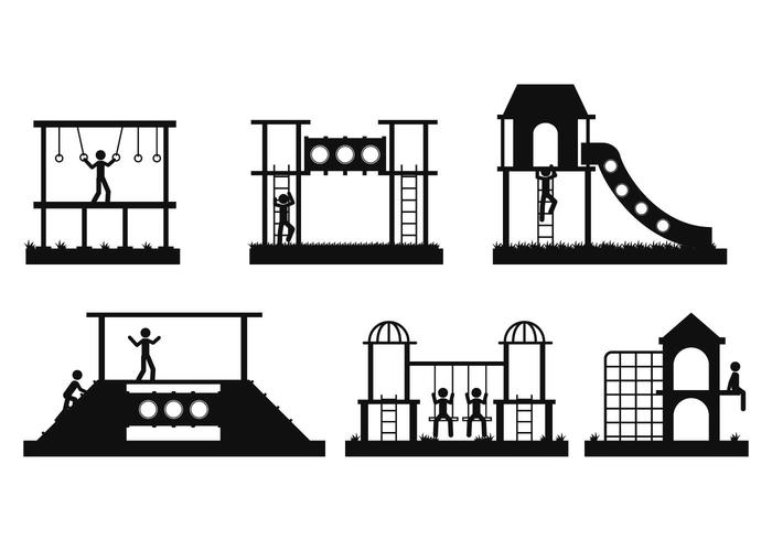 700x490 Jungle Gym Vector Set