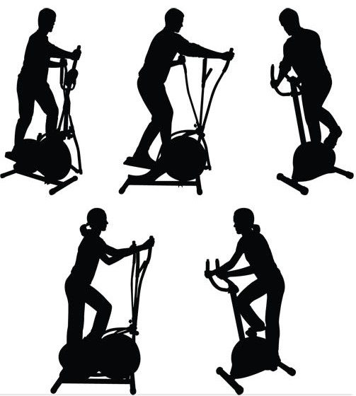503x560 Training In The Gym Vector Ai Format Free Vector Download