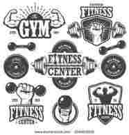 186x194 Logo Vector Free Download In Ai Format Rhpagecom Fitness Designs