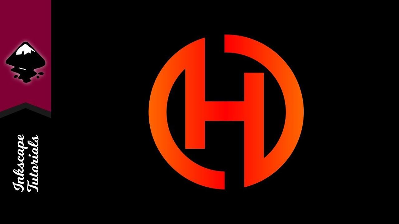 1280x720 Inkscape Tutorial Create A Vector Letter H Logo (Episode