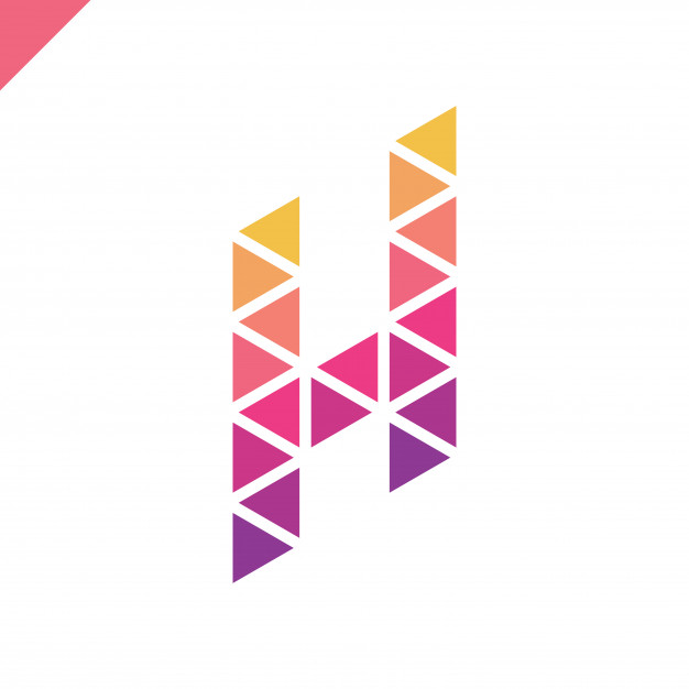 626x626 Isometric Letter H Logo Vector Premium Download