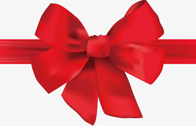 650x418 Vector Painted Red Bow, Vector, Hand Painted, Realism Png And
