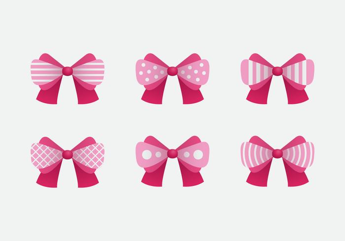 700x490 Pink Hair Ribbon Pink Vector
