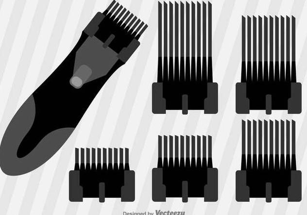 632x443 Du Vecteur Gratuit Flat Hair Clippers Vector