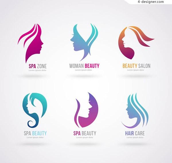 Hair Salon Logo Vector