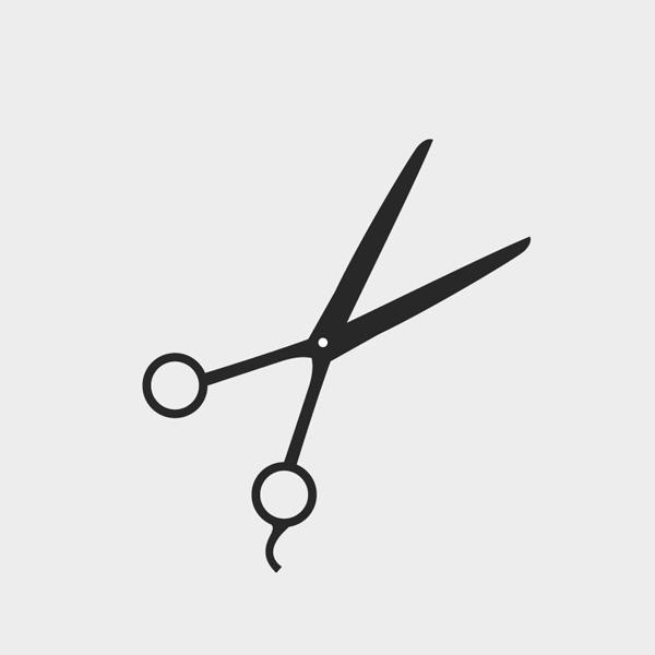 600x600 Images Of Hair Scissors Vector