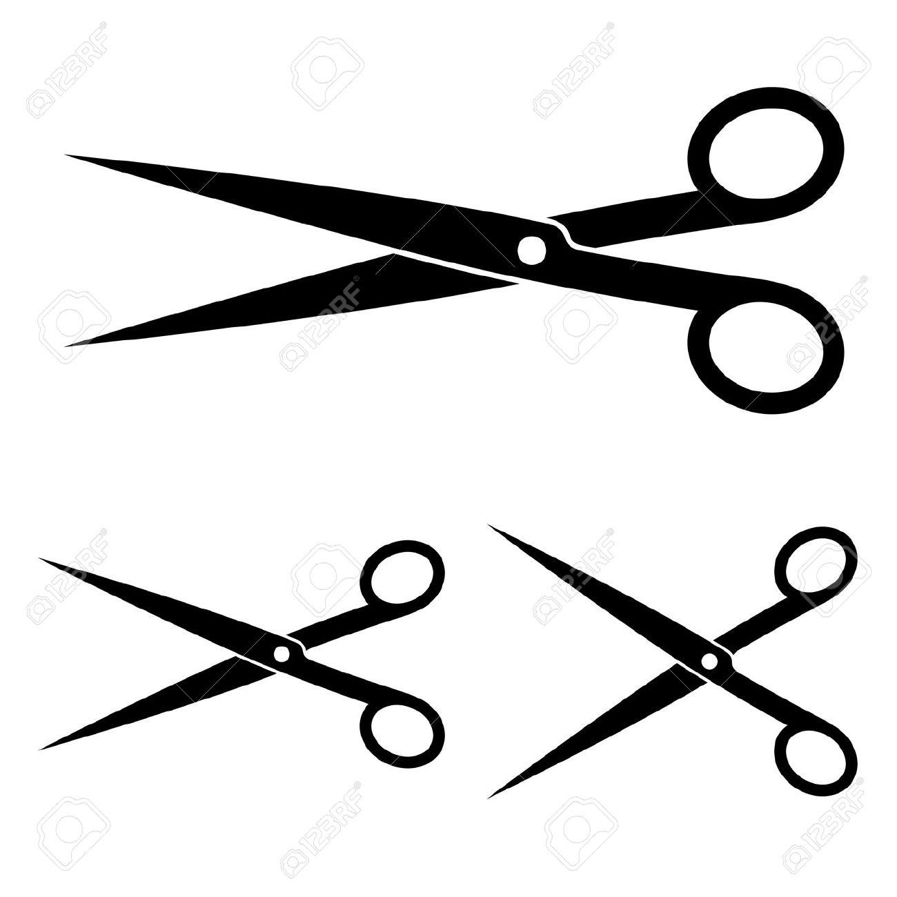 1300x1300 Pink Hair Clipart Hair Scissors