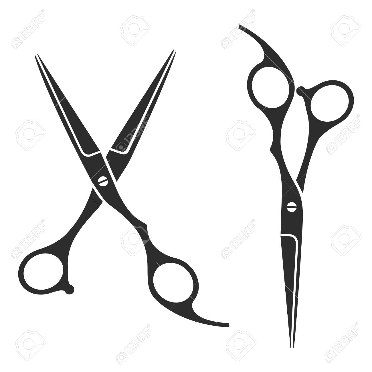 1300x1300 Scissors Vector Logo