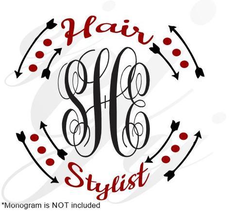 480x434 Hair Stylist Frame Svg Eps Dxf Pdf Jpg Jpeg Vector Graphic Design