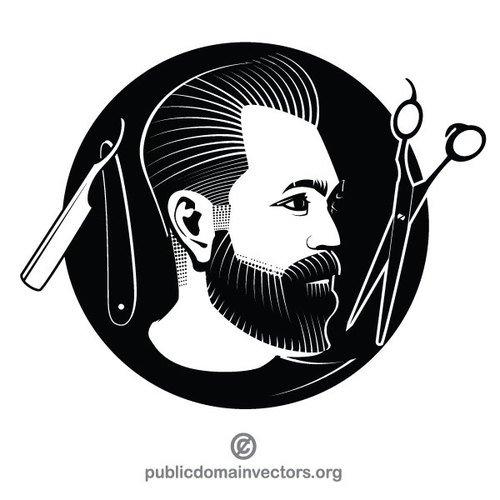 500x500 Hairstylist Vector Graphics Public Domain Vectors