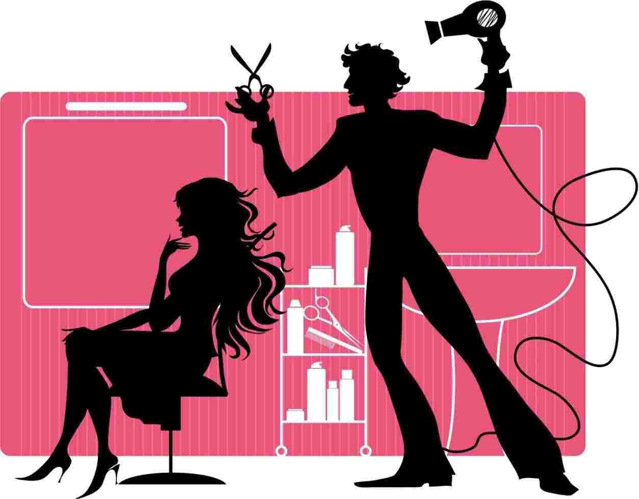1253x978 Salon Ohomeyrhohomeycom Salon Hair Stylist Clipart Transparent