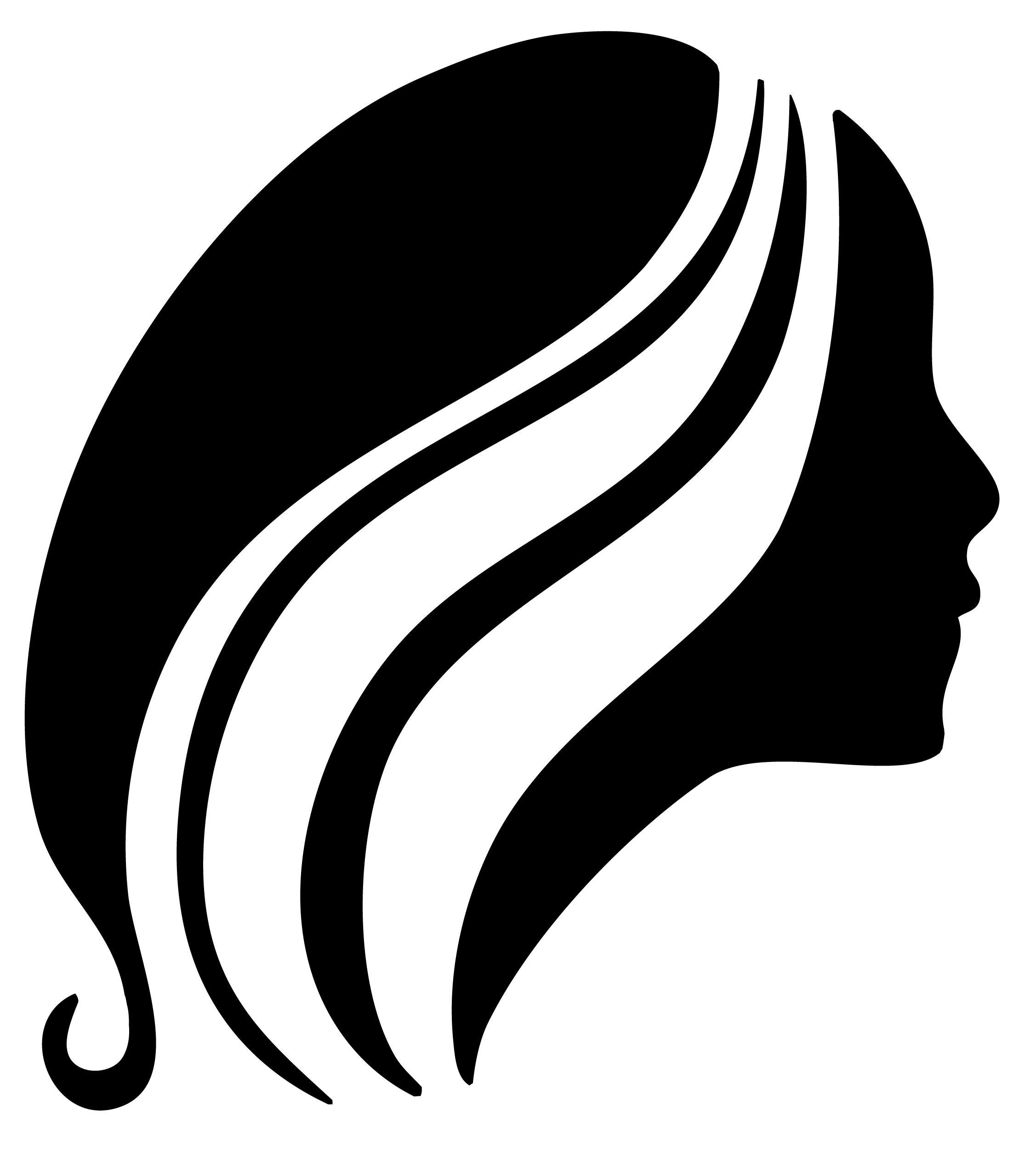 2254x2520 Hair Vector