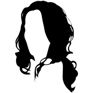 300x300 Hair Vector