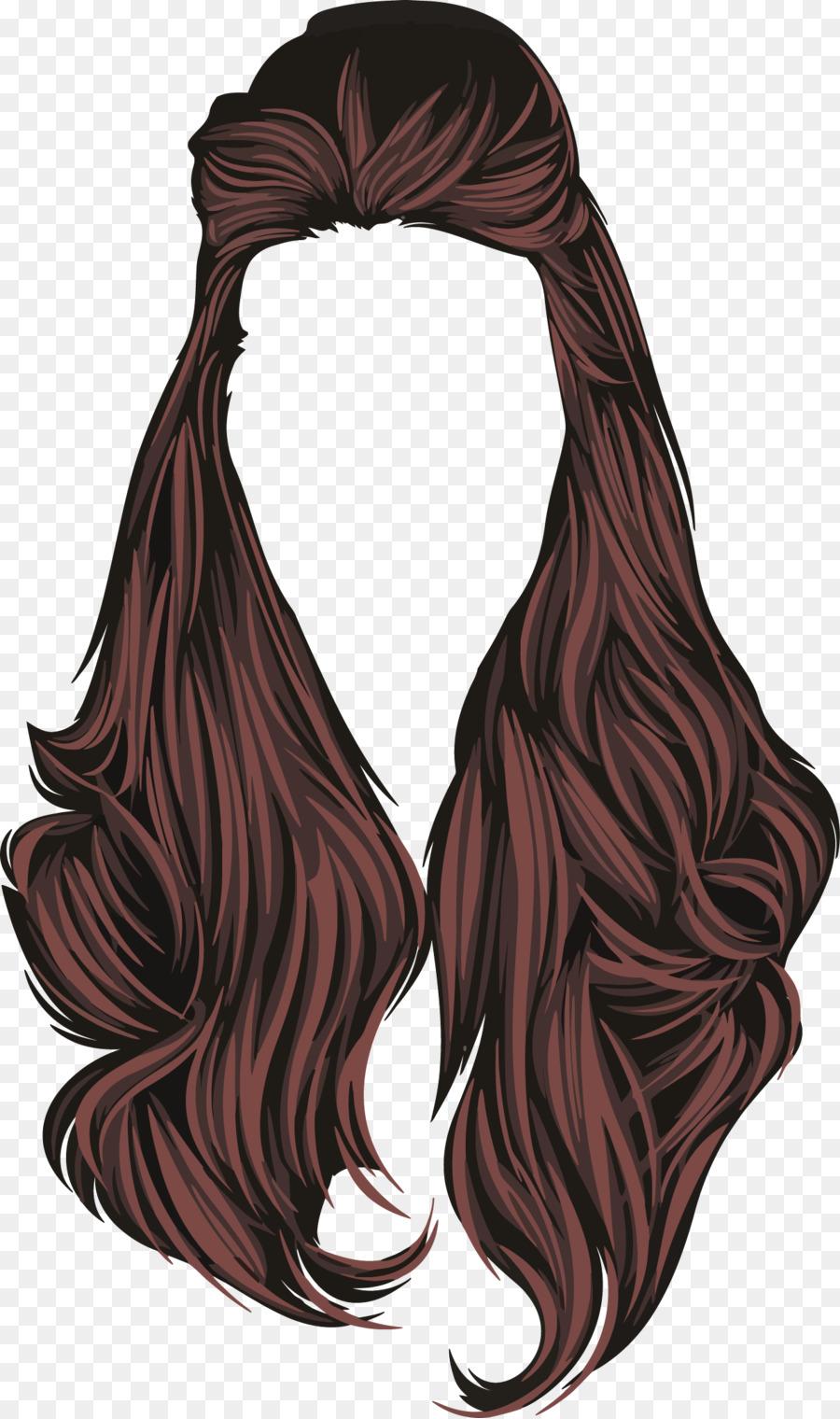 900x1520 Adobe Illustrator Hair Drawing Tutorial