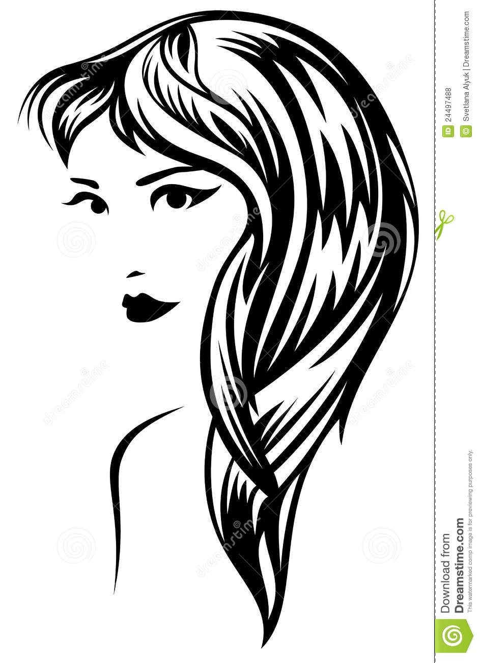 943x1300 10 New Free Hairstyle Vector Look Fresh Hairstyles