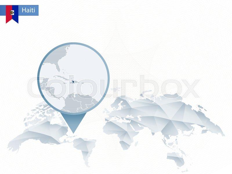 Haiti Map Vector