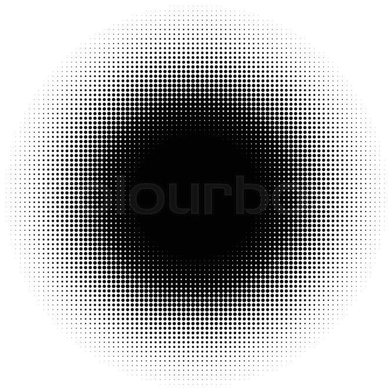 800x800 Halftone Element, Circular Halftone Pattern. Specks, Halftone