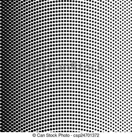 450x470 Black Halftone Texture. Vector Halftone Texture Black Dots On